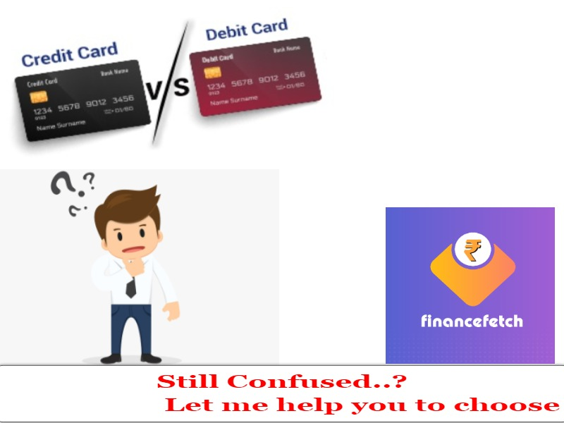 what is the differences between credit and debit cards