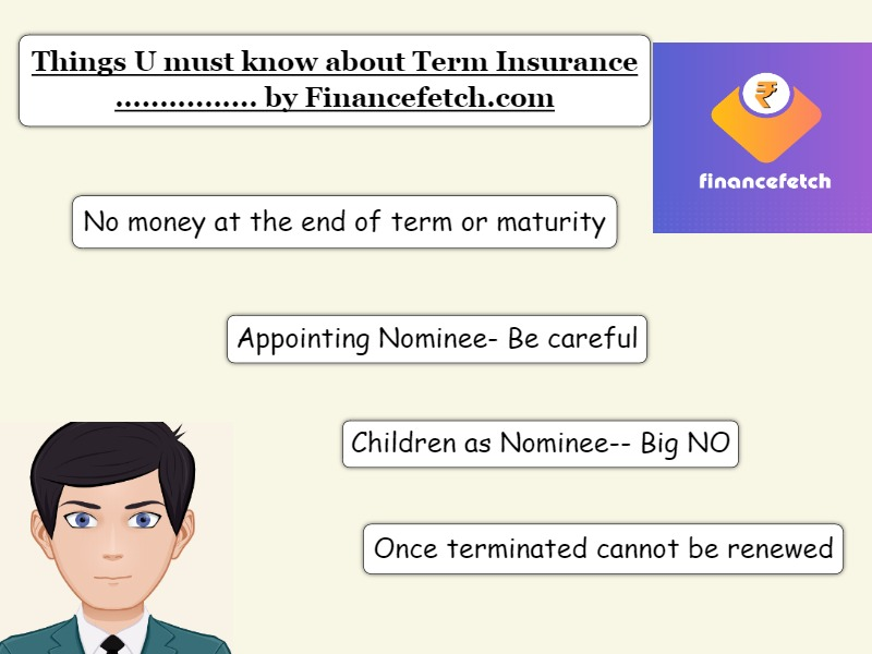 Things to know about Term Insurance Plans