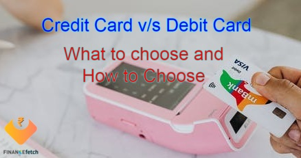 Differences between credit and debit cards